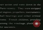 Image of Aircraft graveyard Paris France, 1945, second 21 stock footage video 65675021883