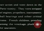 Image of Aircraft graveyard Paris France, 1945, second 22 stock footage video 65675021883