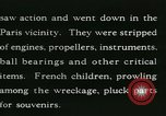 Image of Aircraft graveyard Paris France, 1945, second 24 stock footage video 65675021883