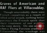 Image of Allied cemetery Paris France, 1945, second 6 stock footage video 65675021884