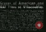 Image of Allied cemetery Paris France, 1945, second 23 stock footage video 65675021884
