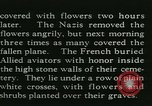 Image of Allied cemetery Paris France, 1945, second 25 stock footage video 65675021884