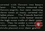 Image of Allied cemetery Paris France, 1945, second 26 stock footage video 65675021884