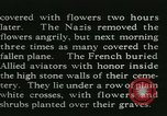 Image of Allied cemetery Paris France, 1945, second 27 stock footage video 65675021884