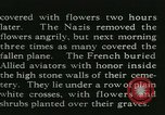 Image of Allied cemetery Paris France, 1945, second 31 stock footage video 65675021884