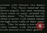 Image of Allied cemetery Paris France, 1945, second 32 stock footage video 65675021884