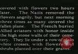 Image of Allied cemetery Paris France, 1945, second 33 stock footage video 65675021884