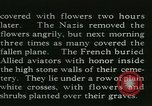 Image of Allied cemetery Paris France, 1945, second 36 stock footage video 65675021884