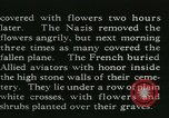 Image of Allied cemetery Paris France, 1945, second 37 stock footage video 65675021884
