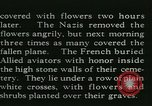 Image of Allied cemetery Paris France, 1945, second 38 stock footage video 65675021884