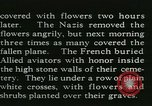 Image of Allied cemetery Paris France, 1945, second 39 stock footage video 65675021884