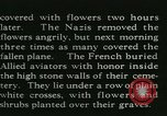 Image of Allied cemetery Paris France, 1945, second 40 stock footage video 65675021884