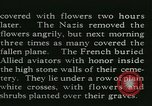 Image of Allied cemetery Paris France, 1945, second 43 stock footage video 65675021884