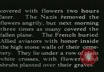 Image of Allied cemetery Paris France, 1945, second 44 stock footage video 65675021884