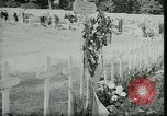 Image of Allied cemetery Paris France, 1945, second 46 stock footage video 65675021884
