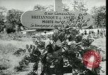 Image of Allied cemetery Paris France, 1945, second 52 stock footage video 65675021884
