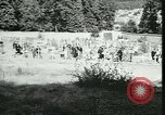 Image of Allied cemetery Paris France, 1945, second 55 stock footage video 65675021884
