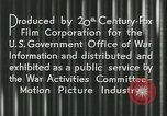 Image of Gas rationing United States USA, 1944, second 16 stock footage video 65675021885