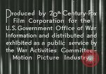 Image of Gas rationing United States USA, 1944, second 17 stock footage video 65675021885