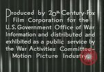 Image of Gas rationing United States USA, 1944, second 21 stock footage video 65675021885