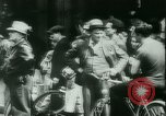 Image of German armistice broadcast to French Paris France, 1940, second 25 stock footage video 65675021942