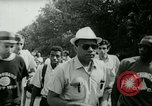 Image of James Meredith and his March Against Fear Mississippi United States USA, 1966, second 9 stock footage video 65675021951