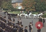 Image of military funeral Arlington Virginia USA, 1979, second 21 stock footage video 65675021999
