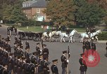 Image of military funeral Arlington Virginia USA, 1979, second 22 stock footage video 65675021999