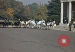 Image of military funeral Arlington Virginia USA, 1979, second 35 stock footage video 65675021999