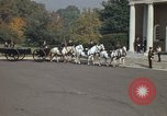 Image of military funeral Arlington Virginia USA, 1979, second 36 stock footage video 65675021999