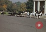 Image of military funeral Arlington Virginia USA, 1979, second 39 stock footage video 65675021999
