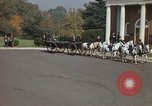 Image of military funeral Arlington Virginia USA, 1979, second 41 stock footage video 65675021999