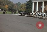 Image of military funeral Arlington Virginia USA, 1979, second 43 stock footage video 65675021999