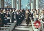 Image of John F Kennedy Veterans Day ceremony Virginia United States USA, 1963, second 15 stock footage video 65675022002