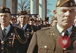 Image of John F Kennedy Veterans Day ceremony Virginia United States USA, 1963, second 25 stock footage video 65675022002