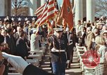 Image of John F Kennedy Veterans Day ceremony Virginia United States USA, 1963, second 34 stock footage video 65675022002