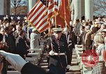Image of John F Kennedy Veterans Day ceremony Virginia United States USA, 1963, second 35 stock footage video 65675022002