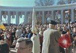 Image of John F Kennedy Veterans Day ceremony Virginia United States USA, 1963, second 45 stock footage video 65675022002