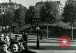 Image of French civilians Paris France, 1944, second 5 stock footage video 65675022022