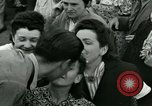 Image of French civilians Paris France, 1944, second 52 stock footage video 65675022022