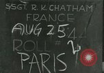 Image of French civilians Paris France, 1944, second 1 stock footage video 65675022023
