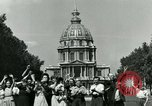 Image of French civilians Paris France, 1944, second 19 stock footage video 65675022023