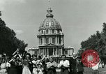 Image of French civilians Paris France, 1944, second 20 stock footage video 65675022023