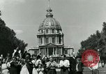 Image of French civilians Paris France, 1944, second 21 stock footage video 65675022023