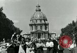Image of French civilians Paris France, 1944, second 23 stock footage video 65675022023