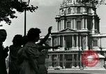 Image of French civilians Paris France, 1944, second 37 stock footage video 65675022023