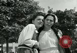 Image of women collaborators Paris France, 1944, second 53 stock footage video 65675022028