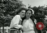 Image of women collaborators Paris France, 1944, second 56 stock footage video 65675022028