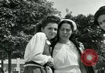 Image of women collaborators Paris France, 1944, second 57 stock footage video 65675022028