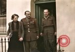 Image of Field Marshal Alan Brooke London England United Kingdom, 1944, second 6 stock footage video 65675022055